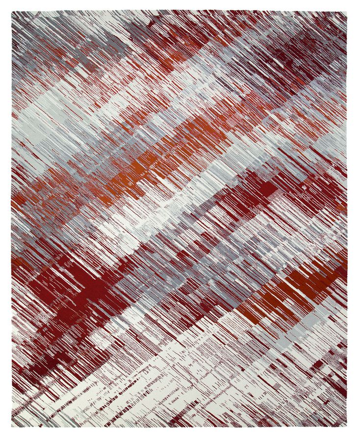 Urbanist Rays I, Scenematic Collection by André Fu #AndreFu #AndreFuLiving #AFL #Architect #Lifestyle #Texture #City #Modern #Interior #Lines #Stripes #Red #Graphic #ImmersiveSunset #Luxury #Rug #Carpet #Tapis #Design #InteriorDesign #Deco #Art #Bespoke #Custom #Unique #HandTuft #HandMade #Artisans #RugsCreatedByUs #TaiPing #HouseOfTaiPing