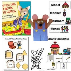 If you take a mouse to school theme