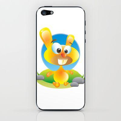 Sunny Bunny iPhone & iPod Skin by MargoLand - $15.00