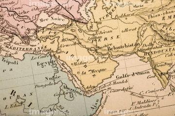 古地図の写真