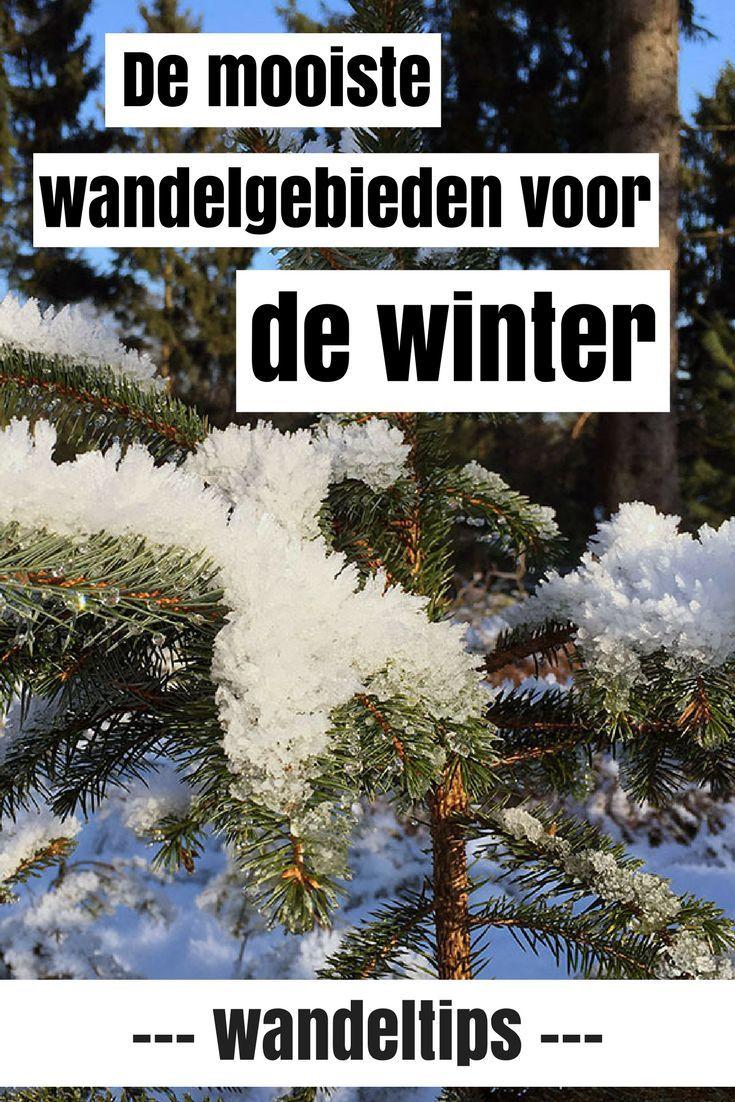 De mooiste wandelgebieden voor deze winter! Van Nederland tot de Alpen tot warme gebieden en de andere kant van de wereld.