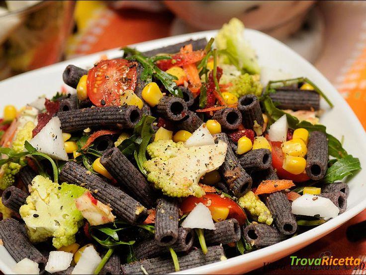 Insalata di pasta nera  #ricette #food #recipes