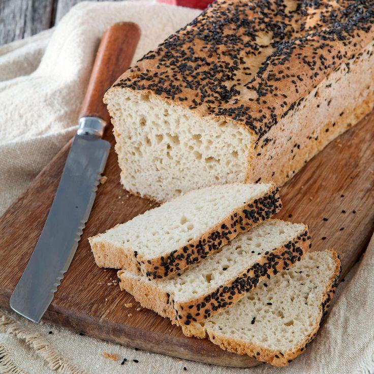 Luftigt rostbröd bakat på fullkornsrismjöl och potatismjöl.