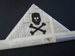 Newspaper Pirate Hat