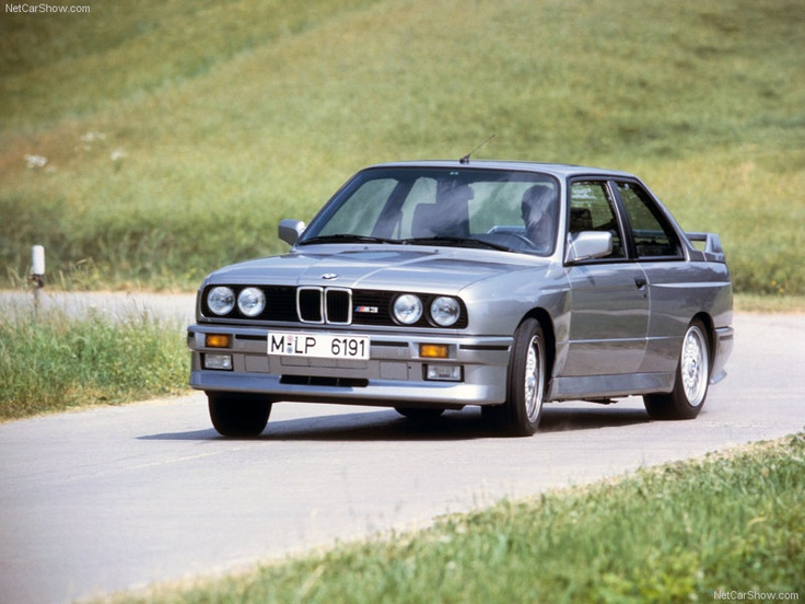 E30 Bmw M3 In Salmon Silver Lachssilber Already An Icon And