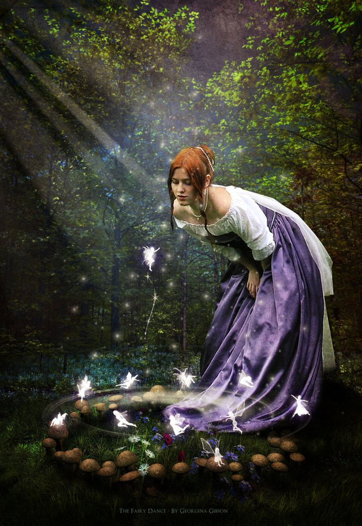 """My submission into the """"Imagine & Create"""" Contest 2nd Edition by Comp details and voting here You know what they say about fairy rings and dances... no matter what... by any circumstances, acce..."""