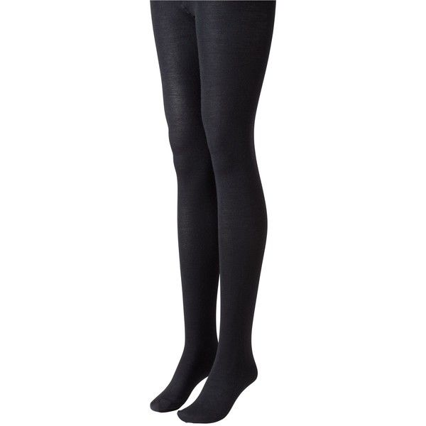 Toast Merino Wool Tights (105 BRL) ❤ liked on Polyvore featuring intimates, hosiery, tights, socks, bottoms, accessories, black, washed black, merino tights and merino wool tights