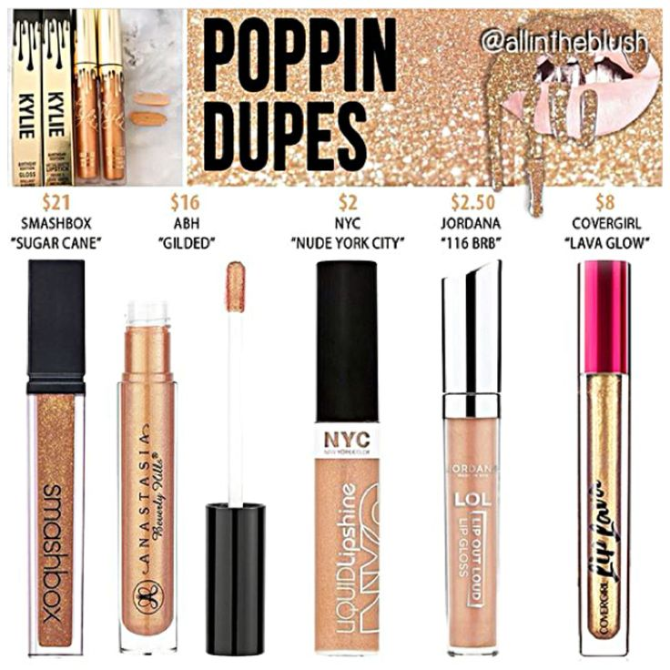 Kylie Jenner dupes for Poppin