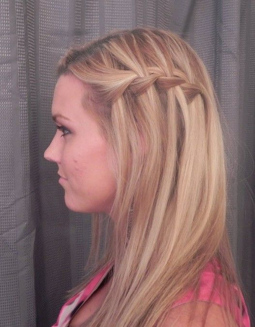 Beautiful Cascade/Waterfall Braid Hairstyles Gallery | Hairstyles Weekly