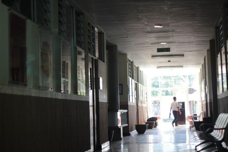 1/2 Hospital, 1/2 Faculty. #PTIIK. Photo by me