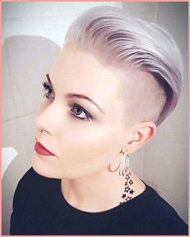 kurze Frisuren – Kurze Frisuren Frauen Jahr 2019-2020 – Frisur Trend #kurze #kur…