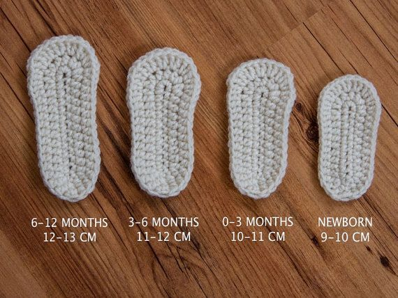 Crochet Braided Baby Sandals und Stirnband Set von…