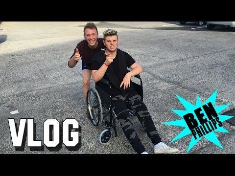 Ben Phillips | VLOG - I just snapped my leg!!! - YouTube