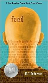 Feed  by M. T. Anderson.   Didn't make it through this yet.   Was interesting in it's FUTURE WORLD gadgetry, but the dialect would be very very distracting, and i'm wondering if my kids would feel it passe and preachy.