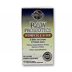Complete digestive and immune support for senior women.