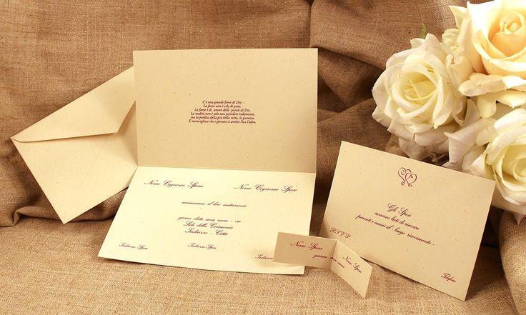 #setnozze #nozze #invitonozze #cartoncino #ecologico #partecipazioni #italian #wedding #classic