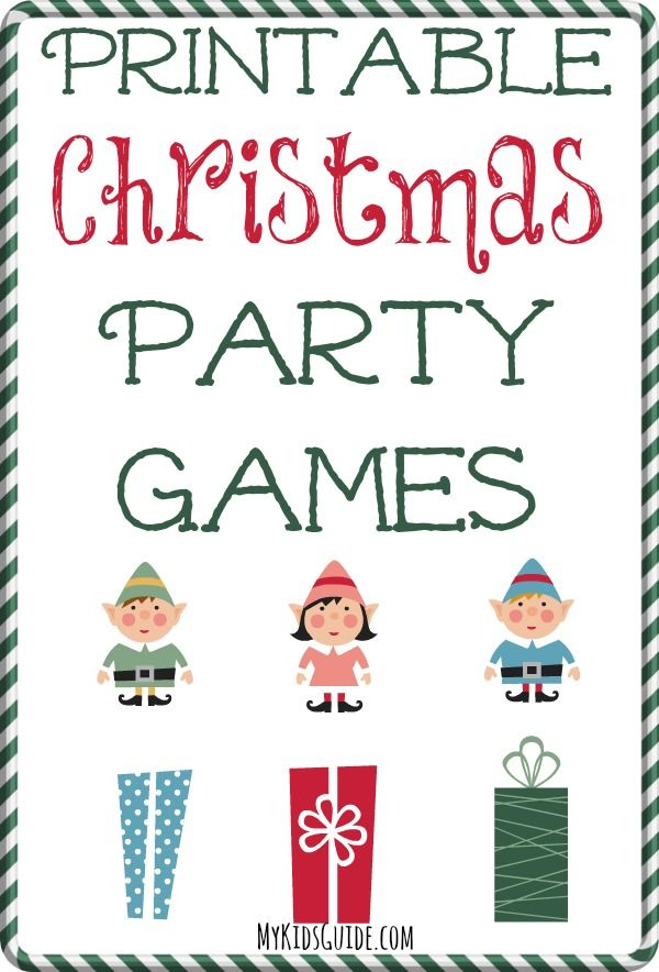 Don't stress about entertainment at your upcoming holiday party! Check out these Printable Christmas Party Games!