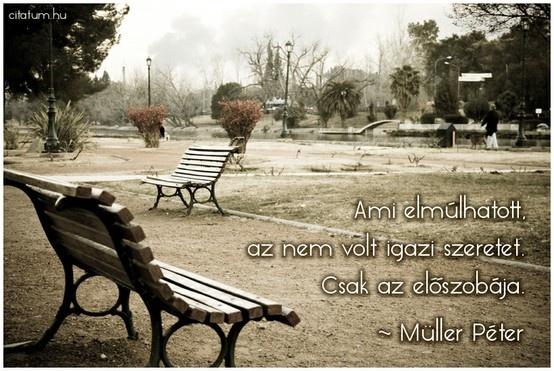 A hét idézete 2013 tizedik hetében Müller Pétertől.