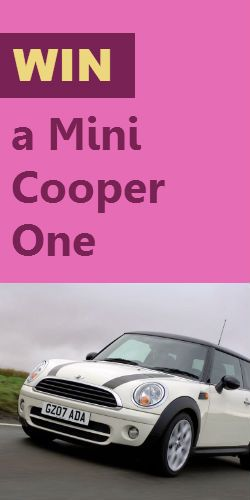 Here's Your Chance to #Win a Mini #Cooper One #Car! #competition #drive #giveaway