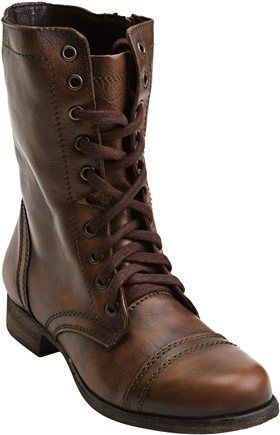 I tried these on today and LOVE. Hoping for my Birthday!  STEVE MADDEN TROOPA BOOT