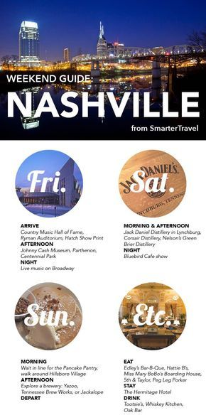Weekend Guide to Nashville!