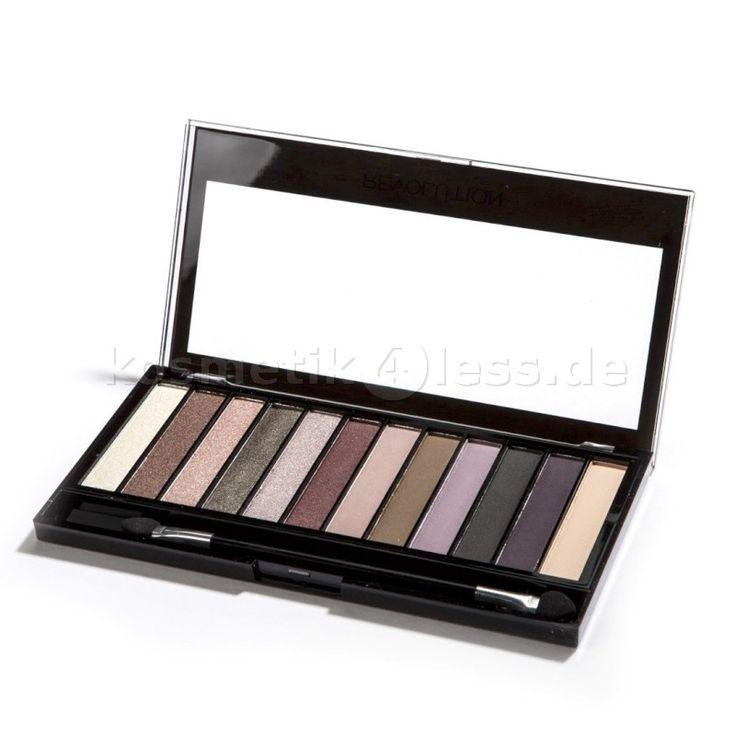 Makeup Revolution - Lidschatten Palette - Redemption Palette - Romantic Smoked - Cosmetics & False Eyelashes