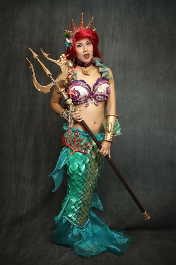 NEW YORK, NY - OCTOBER 10: A cosplayer as Ariel from The Little Mermaid during the New York Comic Con 2015 at The Jacob K. Javits Convention Center on October 10, 2015 in New York City. New York Comic Con is one of the largest comic book and science fiction conventions. The convention brings together fans of fantasy role playing, science fiction, movies and television. (Photo by Neilson Barnard/Getty Images)