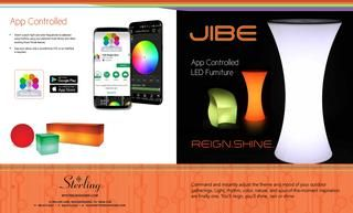 Sterling - Jibe LED Outdoor Furniture Brochure  Distinctive, innovative & design-driven home furnishings and accessories that uncover styles of the future, while revitalizing themes from the past.
