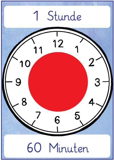 Analog zu unserem Timer, den der Zeitwächter in der Klasse für die einzelnen Unterrichtszeiten einstellt, gibt es nun die passenden Aushänge:
