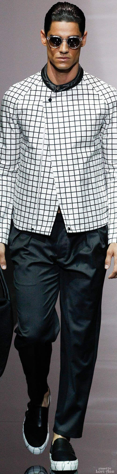 Emporio Armani Spring 2015 Menswear