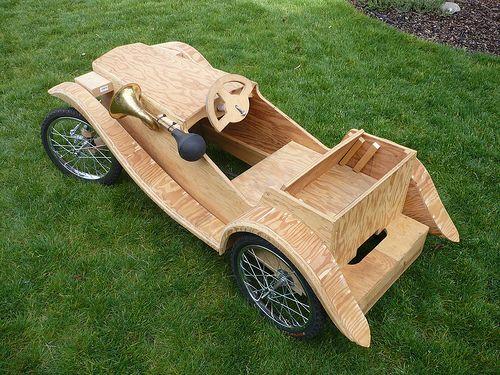 building an mg tc pedal car