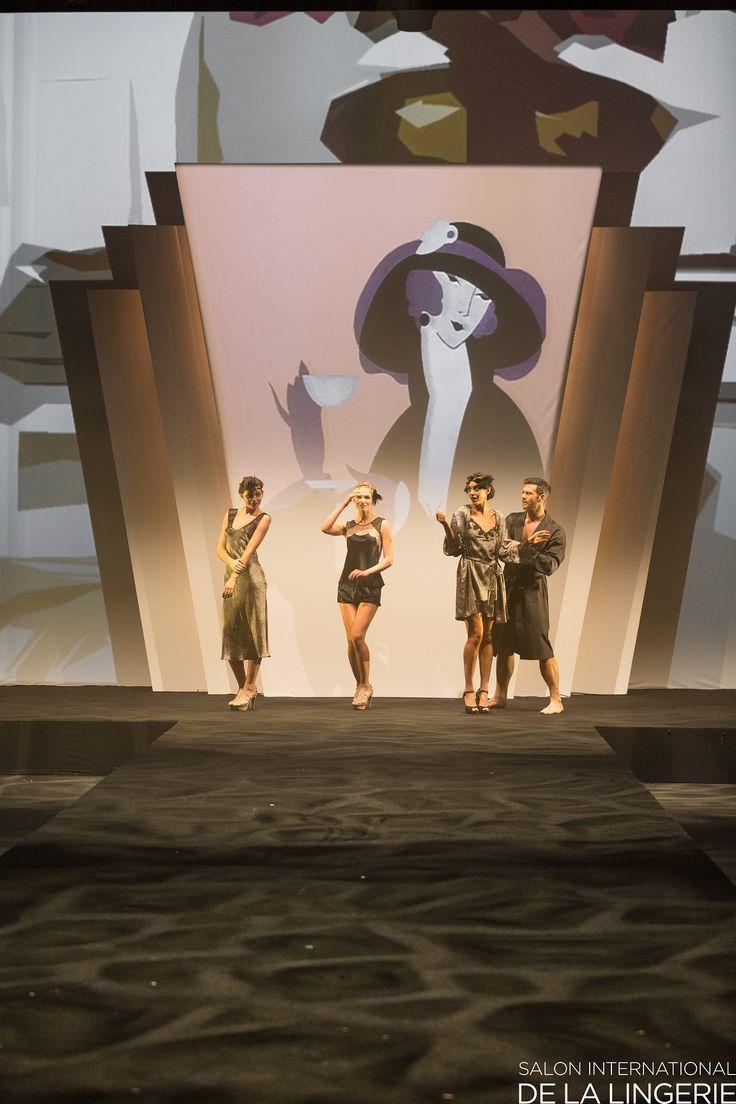 Salon International de la Lingerie © Angelssea Studio - De Groot - Le Fur - Rustue