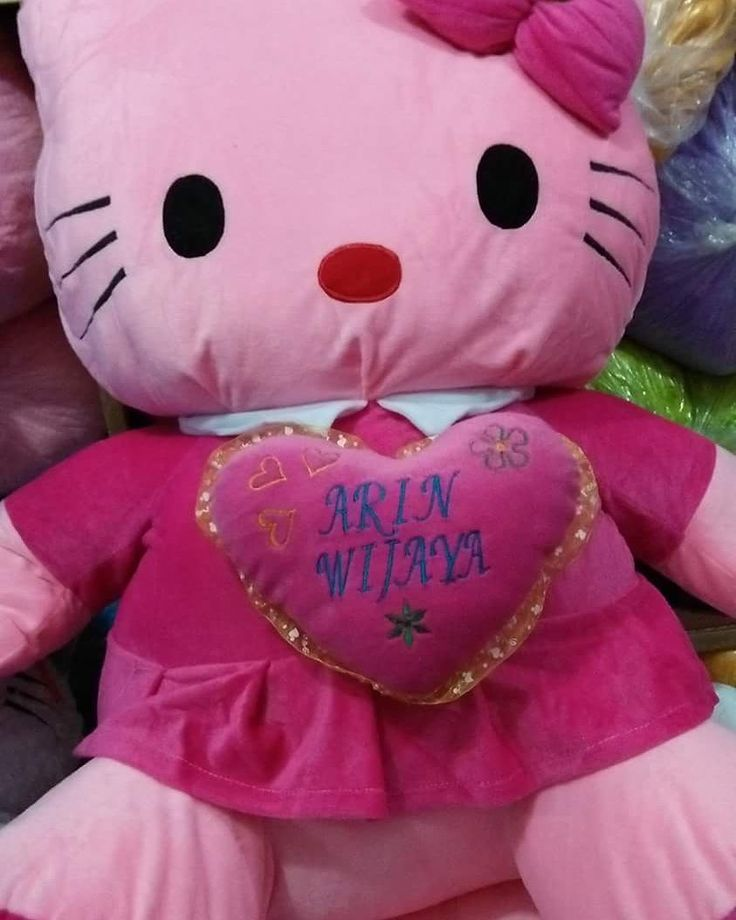 Boneka Hello Kitty Giant ukuran 90x90 cm berat 5 kg harga
