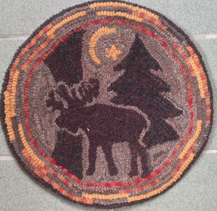 Moose Rug Hooking Kit: 1000+ Ideas About Monks Cloth On Pinterest