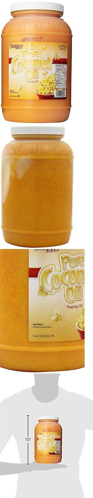 Popcorn 179181: Snappy Popcorn Colored Coconut Oil, 1 Gallon -> BUY IT NOW ONLY: $30.9 on eBay!