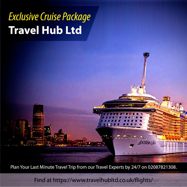 Plan your memorable Cruise Holiday Packages online with Travel Hub and Get Best deals on Ocean Cruises. Call 0208-782-1308 for best Luxury experience with cheap cruises packages, we're available 24/7. Email: Info@travelhubltd.co.uk