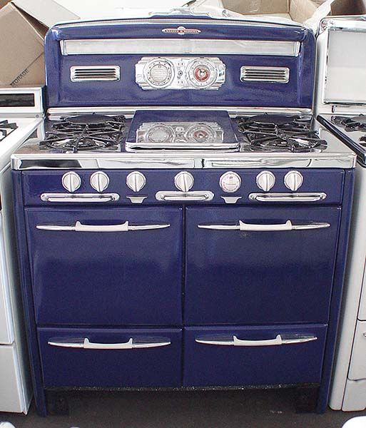 ooohhhh general appliance refinishing inc stoves for sale 39inch early 1950 s o keefe merritt kitchen in 2018 pinterest kitchen appliances
