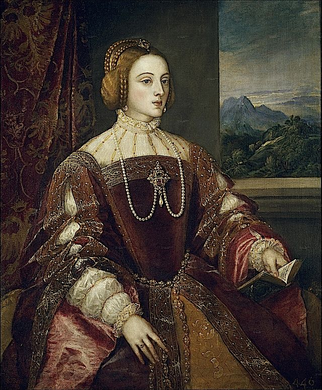 Isabella of Portugal, by Titian, 1548, Location unknown