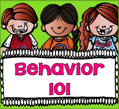 One of the first things I was told as new teacher was the importance of behavior. You couldn't teach them until you had firm control of their behavior. This post has a packet with behavior tips, charts, and forms. $