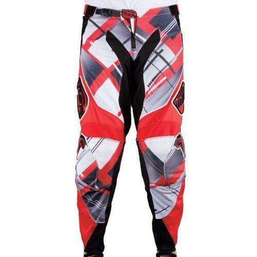 MSR RACING 351198 2013 Max Air Motocross Pants, 34, Red. For product info go to:  https://www.caraccessoriesonlinemarket.com/msr-racing-351198-2013-max-air-motocross-pants-34-red/