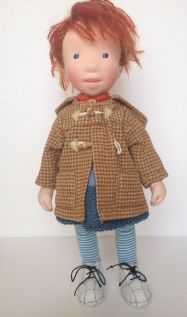 Babette - Handmade cloth doll. (Partial payment accepted)