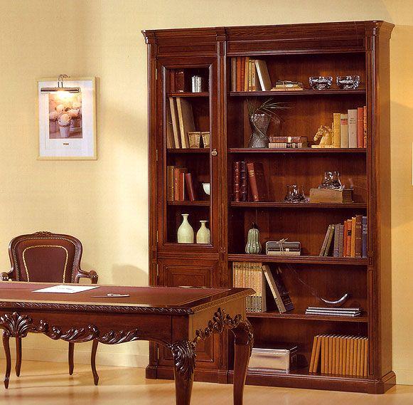 Libreria con Vitrina Canadian   Material: Madera de Haya   Existe la posiblidad de realizar el mueble en diferente color de acabado, ver imagenes de galeria.Libreria,Vitrina... Desde Eur:3145 / $4182.85