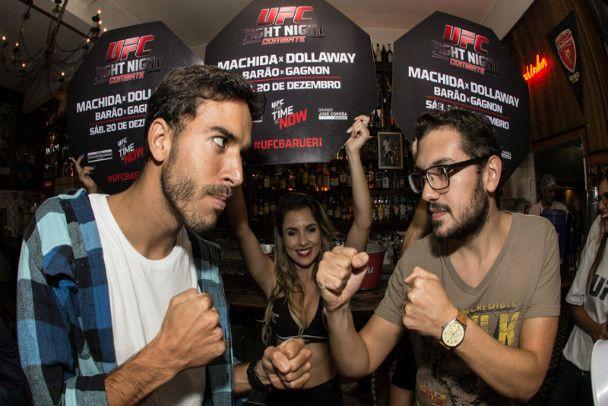 UFC Fight Night - Vila Madalena - http://metropolitanafm.uol.com.br/fotos/ufc-fight-night-vila-madalena