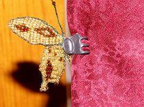 Beaded 3d butterfly