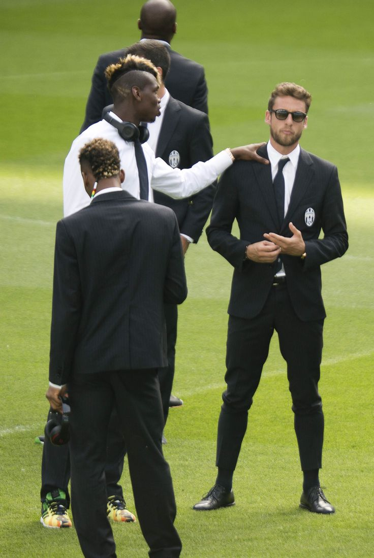 Me and Paul Pogba with Trussardi dress