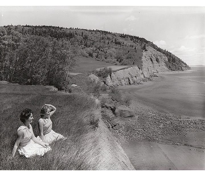 The Blomidon Look-Off ca. 1950s - NS Archives. The view is just as breathtaking today.
