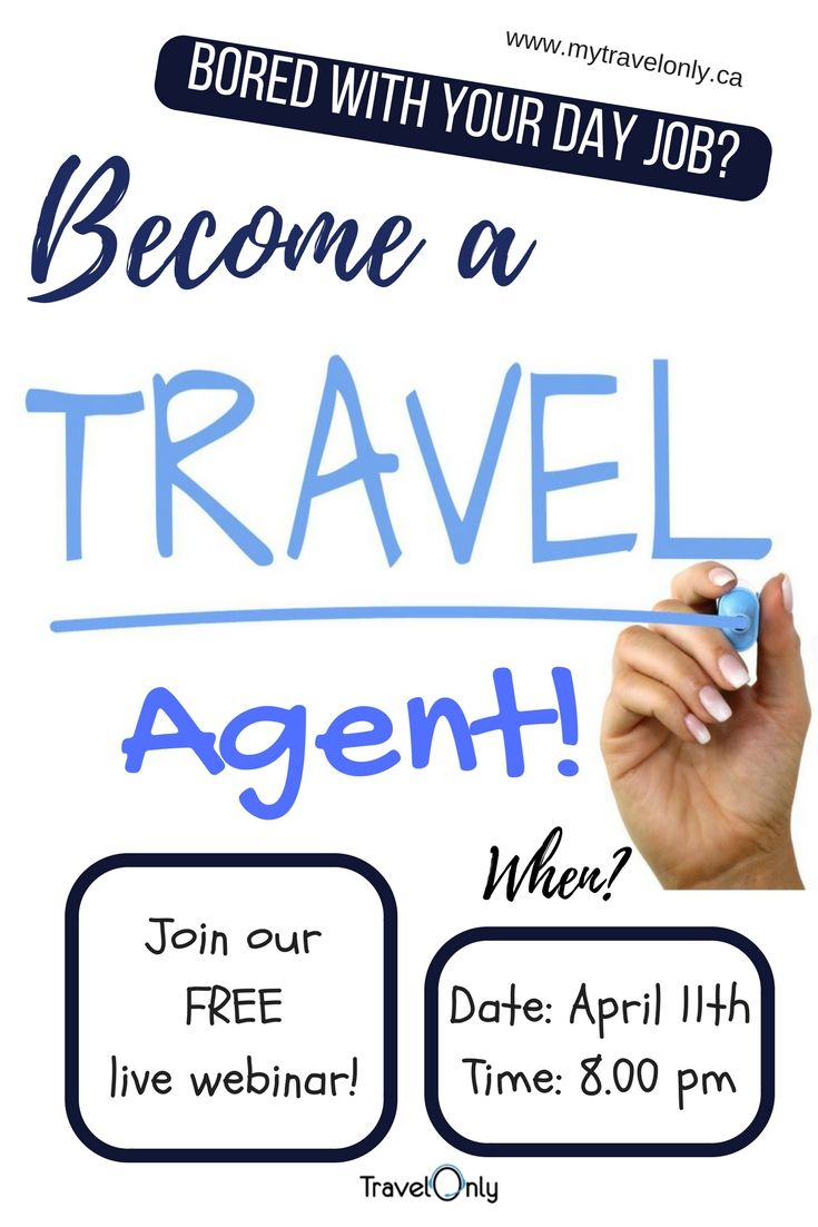 For all Canadians become a homebased travel agent How