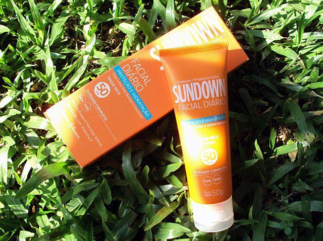Protetor Sundown Facial Diário Toque Seco FPS50