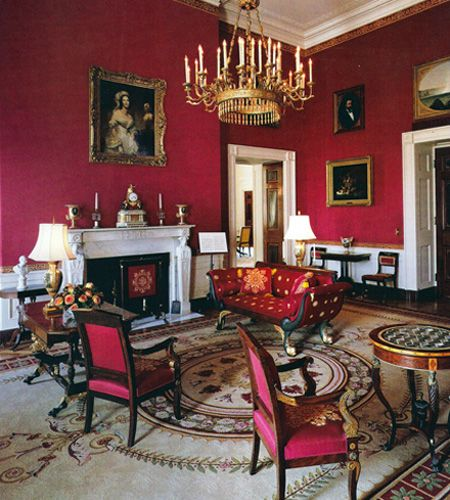 The White House Red Room