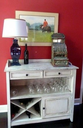 I like this sideboard... Gives me an idea for an old dresser.